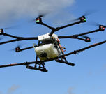 Micromiser on Drone Boom