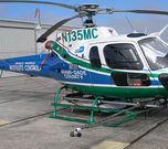 AU6539 on a heli