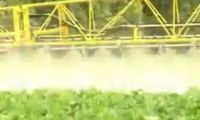 Conventional Top Spraying and Dropleg Spraying video