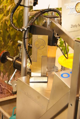 Micro-system bags gold at Polagra-Premiery exhibition  - Gold award for T430Osza
