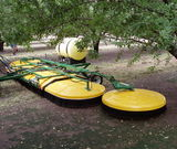 Spraydome 3049 - SD1200's deflect and roll around tree