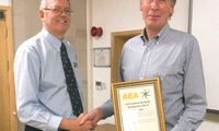 Tom Bals, Micron's Managing Director, receives AEA Technical Standards Distinguished award
