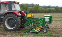 Micron to unveil the new three section band sprayer at LAMMA 2012