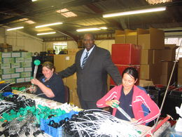 Visit to Micron by SPIA, Senegal - Mr. Kamara of SPIA, Senegal