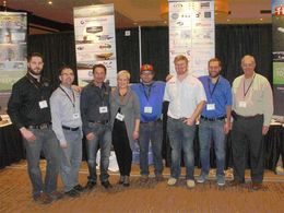 Micron appoint Yorkton as distributor for Micronair Aerial Products in Canada - Yorkton Booth Photo